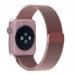 Apple Watch Series 3 38mm Milanese Loop Band Strap (Rose Gold) custom degsined carrying case by PDair