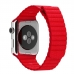 Apple Watch Series 4 44mm Leather Loop Band Strap (Red)  custom degsined carrying case by PDair