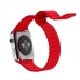 Apple Watch Series 4 44mm Leather Loop Band Strap (Red)  offers worldwide free shipping by PDair