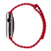 Apple Watch Series 4 44mm Leather Loop Band Strap (Red)  protective stylish skin case by PDair