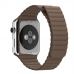 Apple Watch Series 4 44mm Leather Loop Band Strap (Light Brown) custom degsined carrying case by PDair