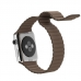 Apple Watch Series 4 44mm Leather Loop Band Strap (Light Brown) offers worldwide free shipping by PDair