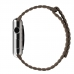 Apple Watch Series 4 44mm Leather Loop Band Strap (Light Brown) protective stylish skin case by PDair