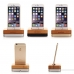 Bamboo Stand Holder for Smartphone, iPhone or Cell Phone protective carrying case by PDair