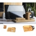 Multifunction Bamboo Stand Holder for Apple Watch, iPhone and Tablet handmade leather case by PDair