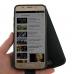 Samsung Galaxy J5 (2016) Leather Flip Wallet Case (Purple Stitch) genuine leather case by PDair