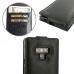 Samsung Galaxy Note 9 Leather Flip Top Wallet Case (Black Stitch) top quality leather case by PDair