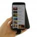 Samsung Galaxy S9 Leather Flip Case (Orange Stitch) best cellphone case by PDair