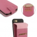 iPhone 7 Leather Flip Wallet Case (Petal Pink) top quality leather case by PDair