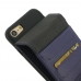 iPhone 8 Leather Flip Case (Purple) custom degsined carrying case by PDair