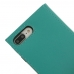 iPhone 7 Leather Smart Flip Wallet Case (Aqua custom degsined carrying case by PDair