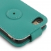 iPhone 8 Leather Flip Top Wallet Case (Aqua) offers worldwide free shipping by PDair