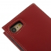 iPhone 8 Leather Smart Flip Wallet Case (Red) top quality leather case by PDair