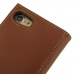 iPhone 8 Leather Smart Flip Wallet Case (Brown) top quality leather case by PDair