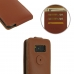 Samsung Galaxy S8 Leather Flip Top Wallet Case (Brown)  top quality leather case by PDair