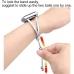 Bracelets Pendant Metal Hollow Wrist Strap for Apple Watch Series 2 38mm (Silver)