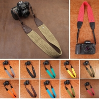 Camera Shoulder Neck Strap Vintage Belt for All DSLR Camera