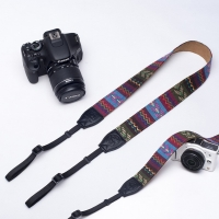 Folk Style Camera Shoulder Neck Strap Vintage Belt for All DSLR Camera NC1328