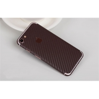 10% OFF + FREE SHIPPING, Buy Best PDair Top Quality Carbon Fiber iPhone Decal Wrap Skin Set Chocolate Brown which is available for iPhone 7, iPhone 7 plus. You also can go to the customizer to create your own stylish leather case if looking for additional