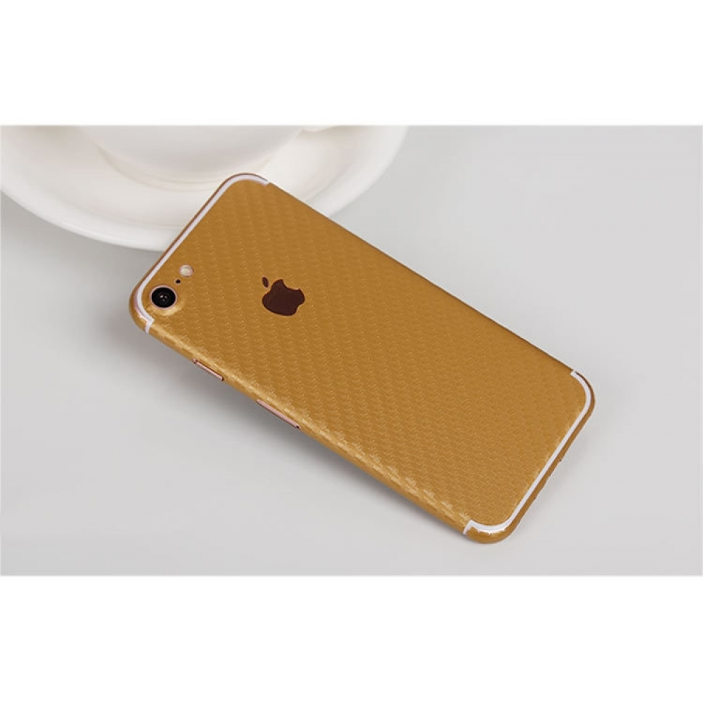 10% OFF + FREE SHIPPING, Buy Best PDair Top Quality Carbon Fiber iPhone Decal Wrap Skin Set (Gold) which is available for iPhone 7, iPhone 7 plus. You also can go to the customizer to create your own stylish leather case if looking for additional colors,