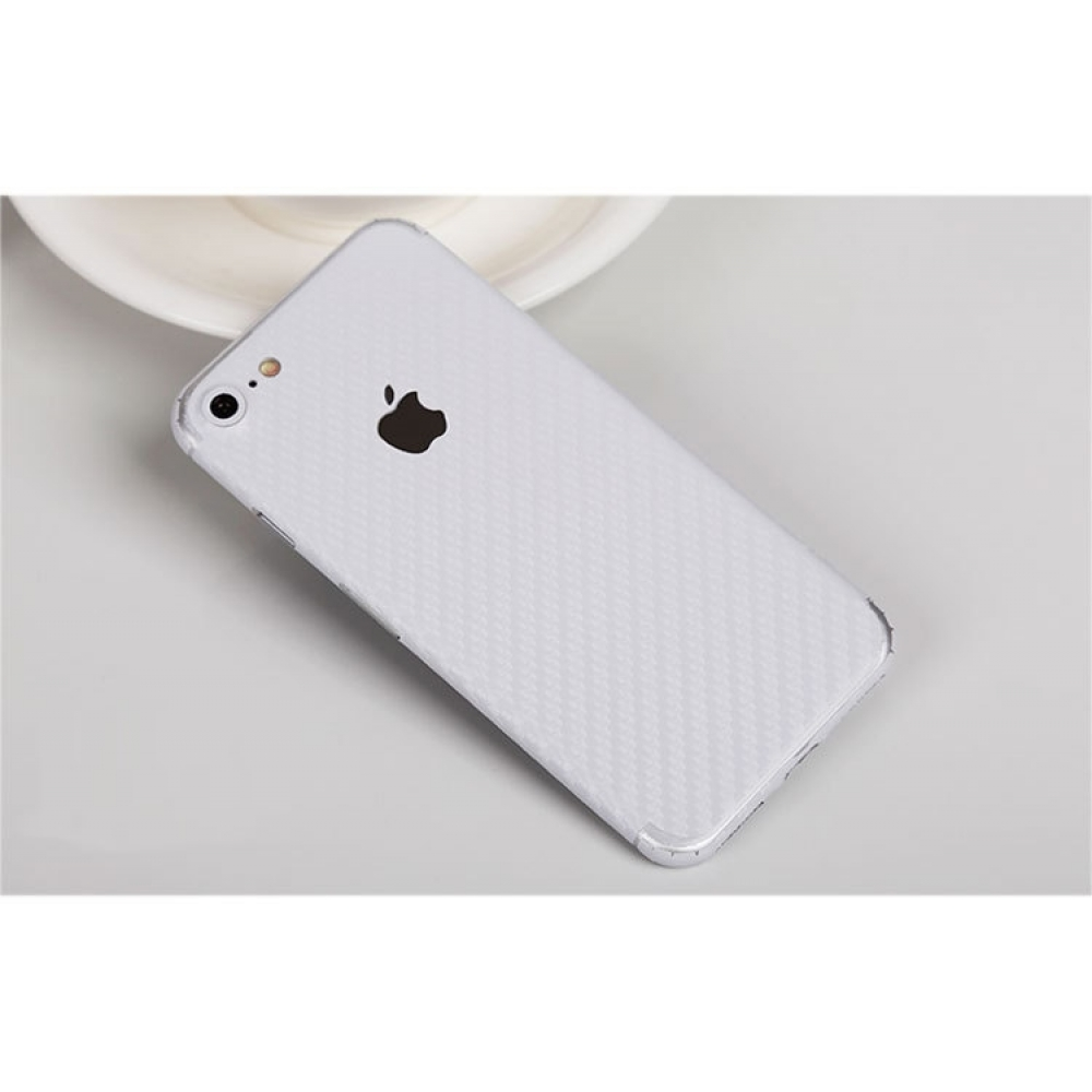 10% OFF + FREE SHIPPING, Buy Best PDair Top Quality Carbon Fiber iPhone Decal Wrap Skin Set (White) which is available for iPhone 7, iPhone 7 plus. You also can go to the customizer to create your own stylish leather case if looking for additional colors,