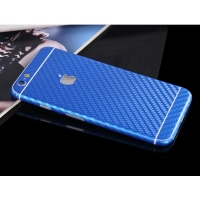 10% OFF + FREE SHIPPING, Buy PDair Top Quality Carbon Fiber iPhone Decal Wrap Skin Set Blue which is available for iPhone 6 | iPhone 6s, iPhone 6 Plus | iPhone 6s Plus, iPhone 5 | iPhone 5s SE You also can go to the customizer to create your own stylish l