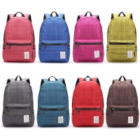 Casual Canvas Laptop Bag / Shoulder Backpack / School Backpack FC009033