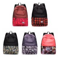 Casual Canvas Laptop Bag / Shoulder Backpack / School Backpack FC7015