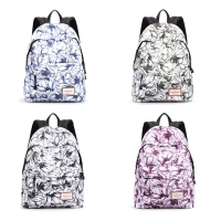 Casual Canvas Laptop Bag / Shoulder Backpack / School Backpack FC719