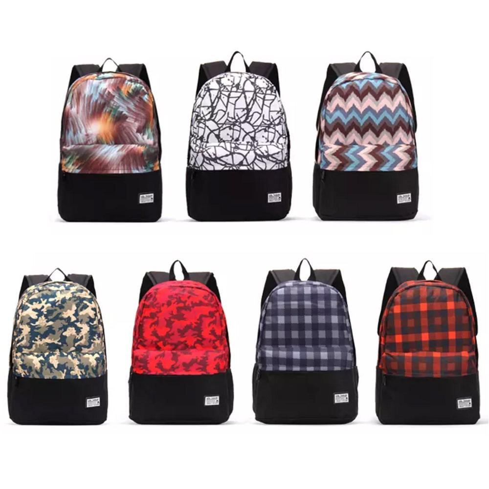 Casual Canvas Laptop Bag / Shoulder Backpack / School Backpack FC8015