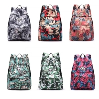 Casual Canvas Laptop Bag / Shoulder Backpack / School Backpack FC9006-2