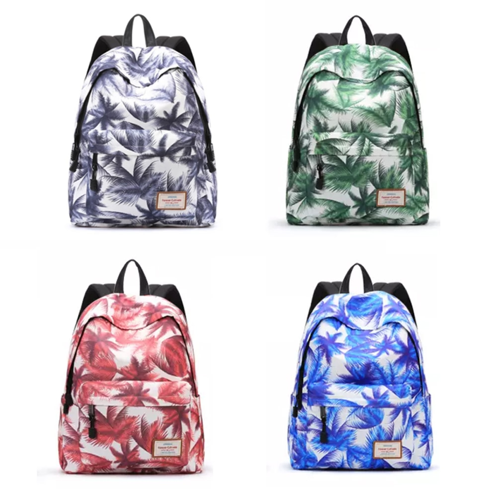 Casual Canvas Laptop Bag/ Shoulder Backpack/ School Backpack FC9012-6