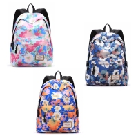 Casual Canvas Laptop Bag / Shoulder Backpack / School Backpack FC9012