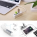 Aluminum Super Speed USB 3.0 4-Port HUB / Type-C 4-Port USB 3.0 HUB protective carrying case by PDair