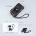 8mm Chocolate Brown Spain Leather Micro-single Camera Wrist Grip Strap protective carrying case by PDair