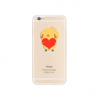 Chick Sweet Heart iPhone 6s 6 Plus SE 5s 5 Pattern Printed Soft Case