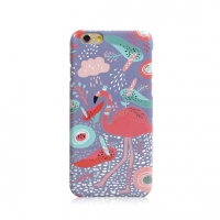 Colorful Flamingo Bird Floral iPhone 6s 6 Plus SE 5s 5 Pattern Printed Hard Case