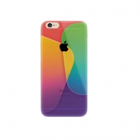 Colorful Rainbow Square iPhone 6s 6 Plus SE 5s 5 Pattern Printed Soft Case