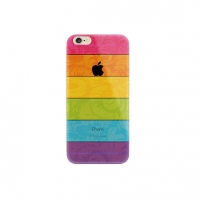 Colorful Rainbow Stripe iPhone 6s 6 Plus SE 5s 5 Pattern Printed Soft Case
