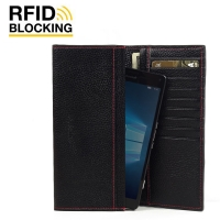 10% OFF + FREE SHIPPING, Buy PDair Quality Handmade Protective Microsoft Lumia 950 XL Leather Continental Sleeve Wallet (Red Stitching). You also can go to the customizer to create your own stylish leather case if looking for additional colors, patterns a