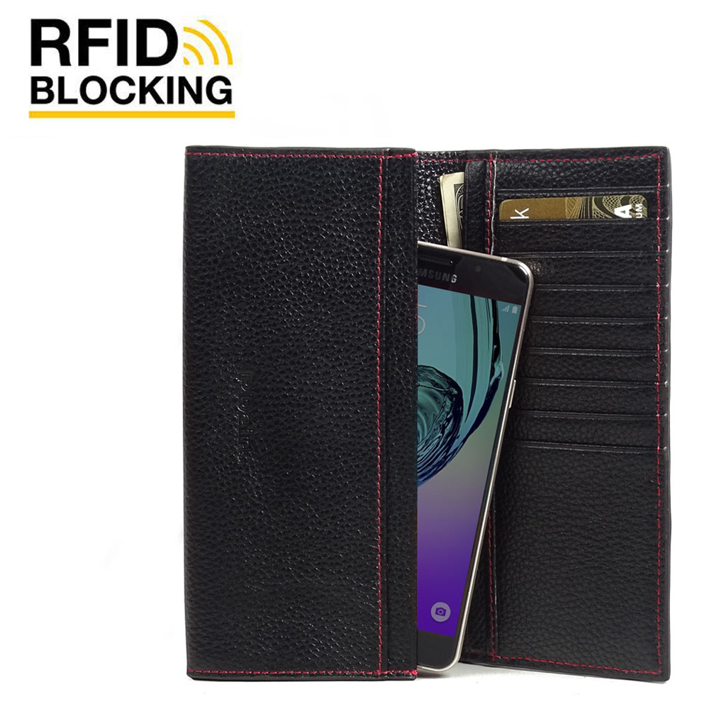 10% OFF + FREE SHIPPING, Buy PDair Quality Handmade Protective Samsung Galaxy A5 2016 Leather Continental Sleeve Wallet (Red Stitching). You also can go to the customizer to create your own stylish leather case if looking for additional colors, patterns a