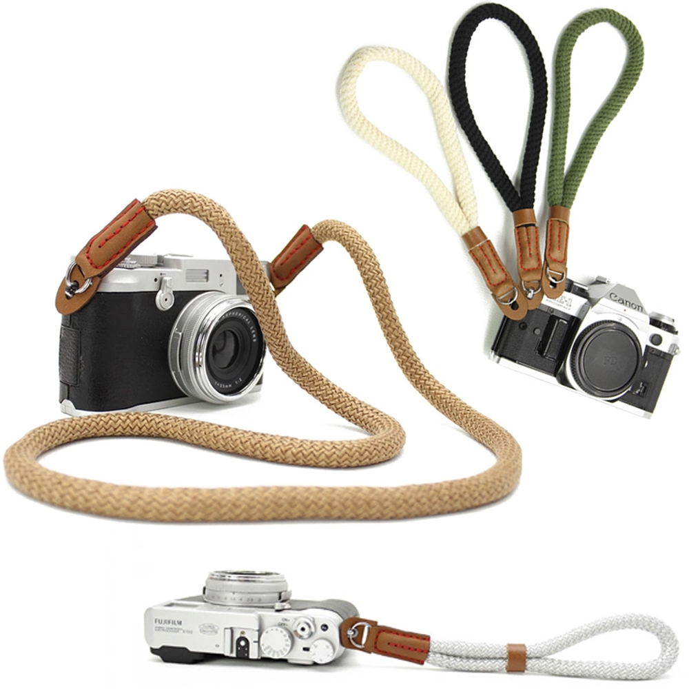 10% OFF + FREE SHIPPING, Buy Best PDair Top Quality Cotton Braided Micro-single Camera Shoulder Neck Strap / Camera Wrist Grip Strap / Camera Hand Strap. You also can go to the customizer to create your own stylish leather case if looking for additional c