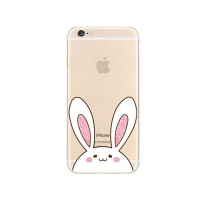 Cute Rabbit iPhone 6s 6 Plus SE 5s 5 Pattern Printed Soft Case