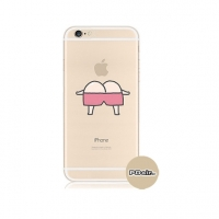 Cutie Ass iPhone 6s 6 Plus SE 5s 5 Pattern Printed Soft Case