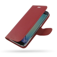 10% OFF + FREE SHIPPING, Buy Best PDair Top Quality Handmade Protective Samsung Galaxy S6 edge Leather Flip Carry Cover (Red) You also can go to the customizer to create your own stylish leather case if looking for additional colors, patterns and types.