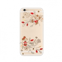 Disney Mickey Minnie Mouse Flower iPhone 6s 6 Plus SE 5s 5 Pattern Printed Soft Case