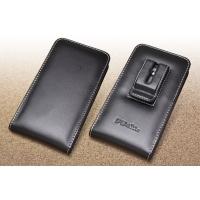 Leather Vertical Pouch Belt Clip Case for DoCoMo AQUOS R SH-03J
