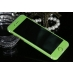Frosted Sparkle iPhone 6s 6 Plus Decal Wrap Skin Set (Green) protective carrying case by PDair