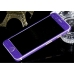 Frosted Sparkle iPhone 6s 6 Plus Decal Wrap Skin Set Purple Violet protective carrying case by PDair