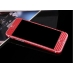Carbon Fiber iPhone 6s 6 Plus Decal Wrap Skin Set (Red) protective carrying case by PDair